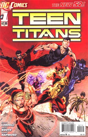 Teen Titans Vol 4 #1 2nd Ptg
