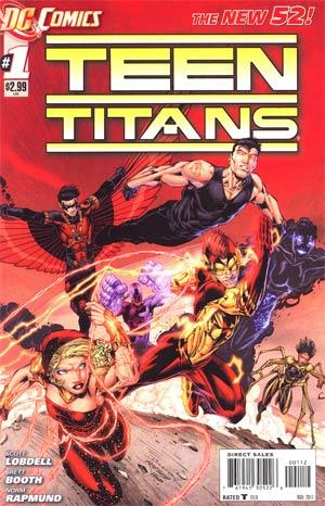 Teen Titans Vol 4 #1 2nd Ptg
