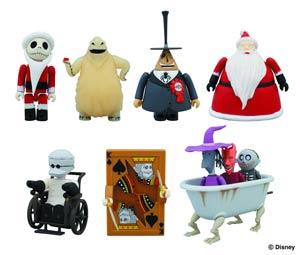 Nightmare Before Christmas Kubrick Previews Exclusive 10-Piece Box Set