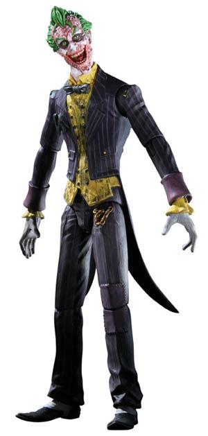 Batman Arkham City The Joker Sickened Variant NYCC 2011 Exclusive Action Figure