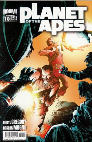 Planet Of The Apes Vol 3 #10 Regular Cover B
