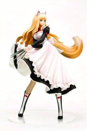 Shining Hearts Lorna Ani-Statue