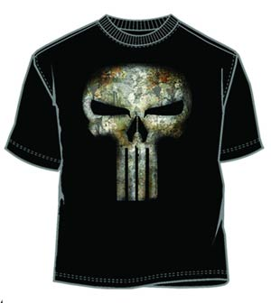 Punisher No Sweat Black T-Shirt Large