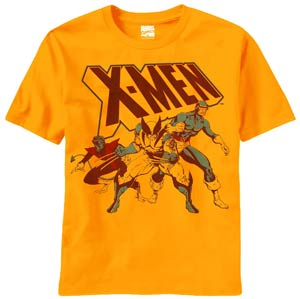 X-Men Dont Trouble Us Previews Exclusive Gold T-Shirt Large