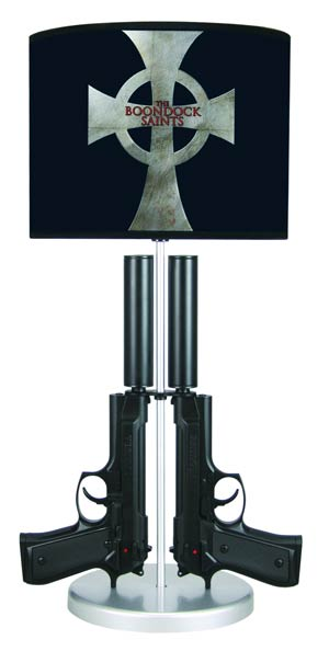 Boondock Saints Double-Gun Table Lamp