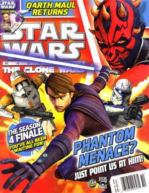 Star Wars Clone Wars Magazine #10 Mar / Apr 2012
