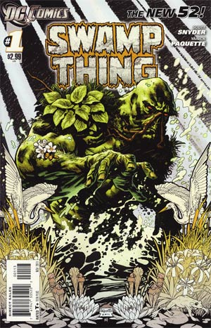 Swamp Thing Vol 5 #1 3rd Ptg