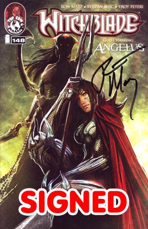 Witchblade #148 Signed By Ron Marz