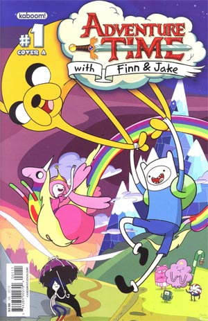 Adventure Time #1 Cover A 1st Ptg Regular Cover