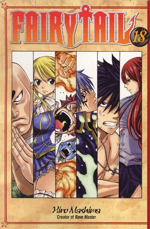 Fairy Tail Vol 18 GN