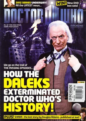 Doctor Who Magazine #444 Jan 2012