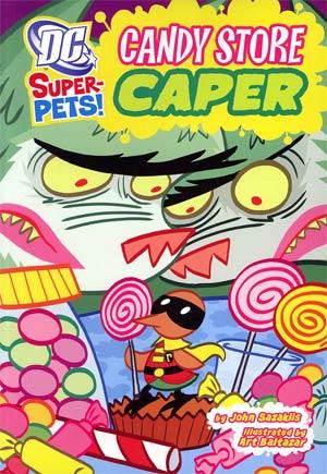 DC Super-Pets Candy Store Caper TP