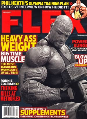 Flex Magazine Vol 29 #10 Dec 2011