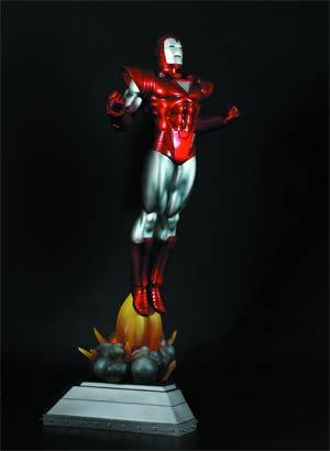 Iron Man Silver Centurion Statue By Bowen