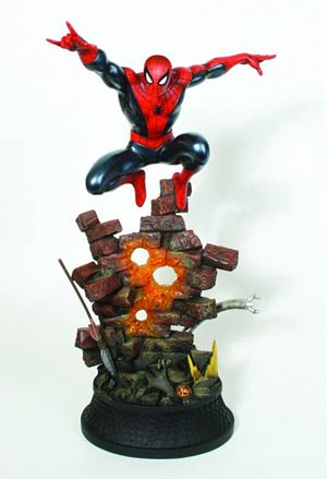 Spider-Man Action Statue By Bowen