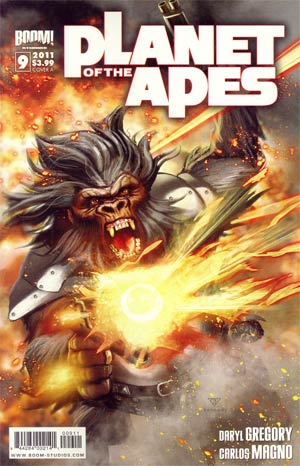 Planet Of The Apes Vol 3 #9 Regular Cover A