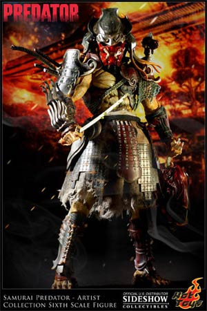 Alien vs Predator Samurai Predator 14-Inch Action Figure