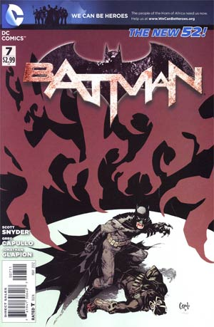 Batman Vol 2 #7  Cover A Regular Greg Capullo Cover