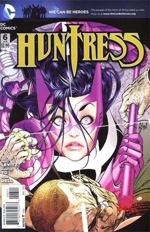 Huntress Vol 3 #6