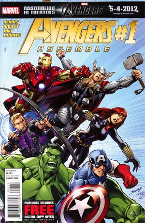 Avengers Assemble #1 1st Ptg Regular Mark Bagley Cover