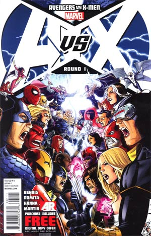 Avengers vs X-Men #1 Cover A 1st Ptg Regular Jim Cheung Cover
