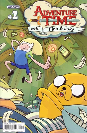 Adventure Time #2 1st Ptg Regular Cover B