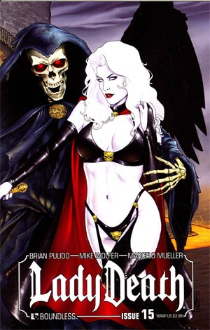 Lady Death Vol 3 #15 Wraparound Cover