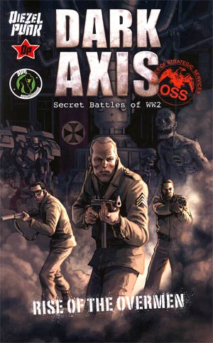 Dark Axis Rise Of The Overmen TP