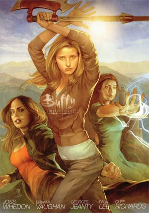 Buffy The Vampire Slayer Season 8 Library Edition Vol 1 The Long Way Home HC