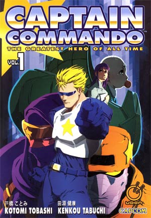 Captain Commando Vol 1 GN