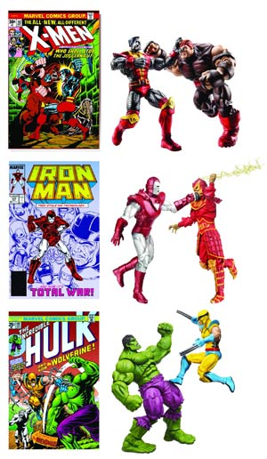 Marvel Comic Action Figure 2-Pack Assortment Case 201201