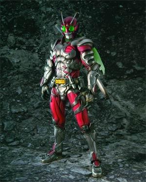 Kamen Rider SIC Vol 62 Masked Rider ZX (Kamen Rider ZX) Action Figure