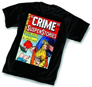 EC Comics Crime SuspenStories #22 By Johnny Craig T-Shirt Large
