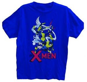 X-Men Royal Blue T-Shirt Large