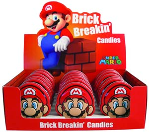 Nintendo Brick Breakin Candy Tin