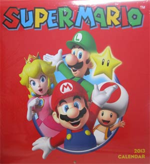 Super Mario 2013 12x12-Inch Wall Calendar