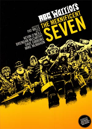 ABC Warriors Vol 1 Meknificent Seven TP Simon & Schuster Edition