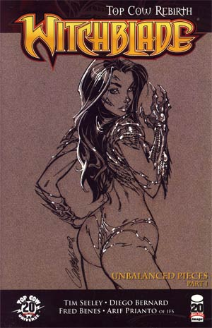 Witchblade #151 Cover C Incentive J Scott Campbell Sketch Variant Cover
