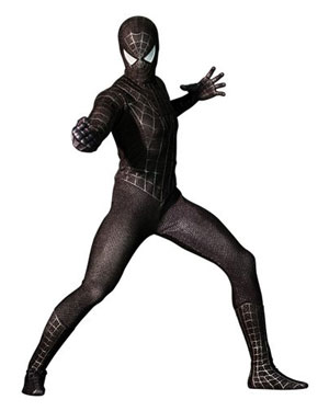 Spider-Man 3 Spider-Man Black Suit 12-Inch Action Figure