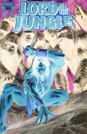 Lord Of The Jungle #1 Incentive Alex Ross Negative Art Cover