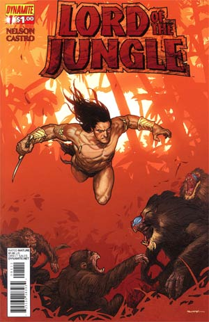 Lord Of The Jungle #1 Regular Ryan Sook Cover