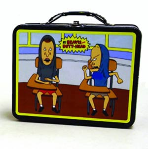 Beavis & Butthead Large Carry-All Lunch Box - Classroom