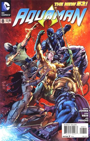 Aquaman Vol 5 #8 Regular Ivan Reis Cover