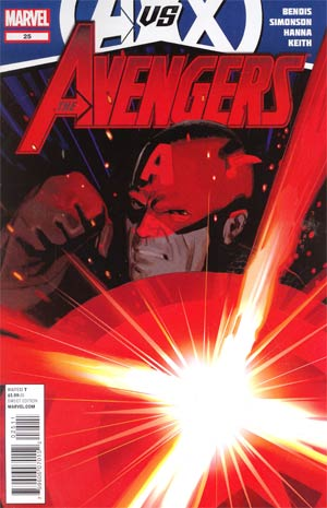 Avengers Vol 4 #25 1st Ptg Regular Daniel Acuna Cover (Avengers vs X-Men Tie-In)