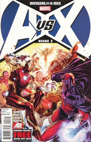 Avengers vs X-Men #2 Regular Jim Cheung Cover