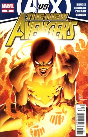 New Avengers Vol 2 #25 1st Ptg (Avengers vs X-Men Tie-In)