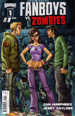 Fanboys vs Zombies #1 1st Ptg Cover B Ale Garza