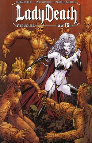 Lady Death Vol 3 #16 Regular Matt Martin Cover