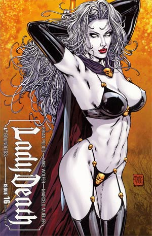 Lady Death Vol 3 #16 Sultry Cover