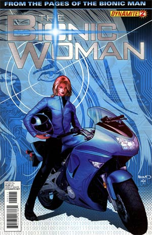 Bionic Woman Vol 2 #2 Regular Paul Renaud Cover